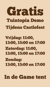 Tuintopia op Castlefest